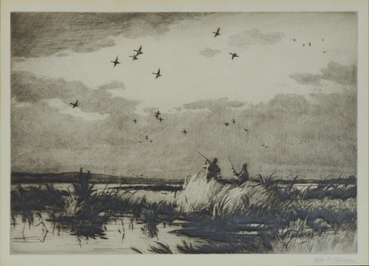 Ogden Pleissner - Passing Pintails