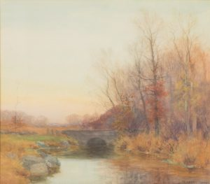 William Merritt Post - River Landscape