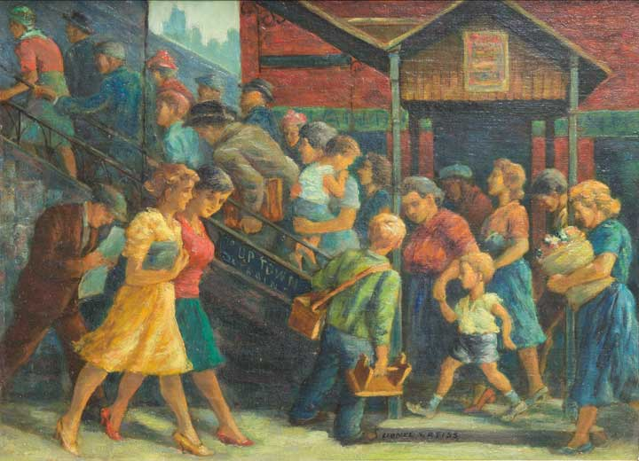 Lionell Reiss - Going Home Under the El