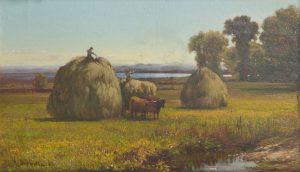 A.D. Shattuck - Haying