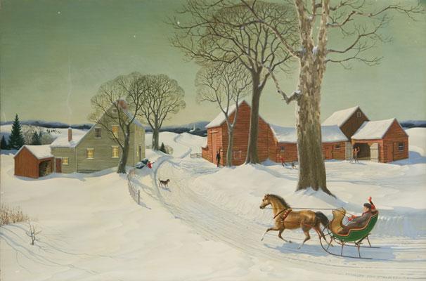 Charlotte J. Sternberg - Winter Scene