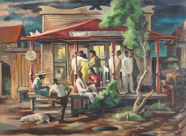 Lorin Thompson - Cafe Scene
