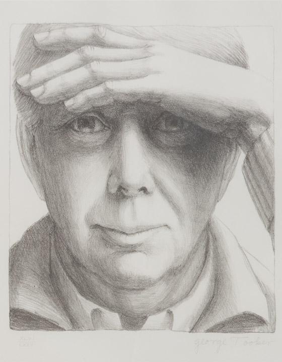 George Tooker - Self Portrait