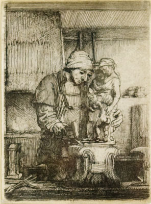 Rembrandt van Rijn - The Goldsmith