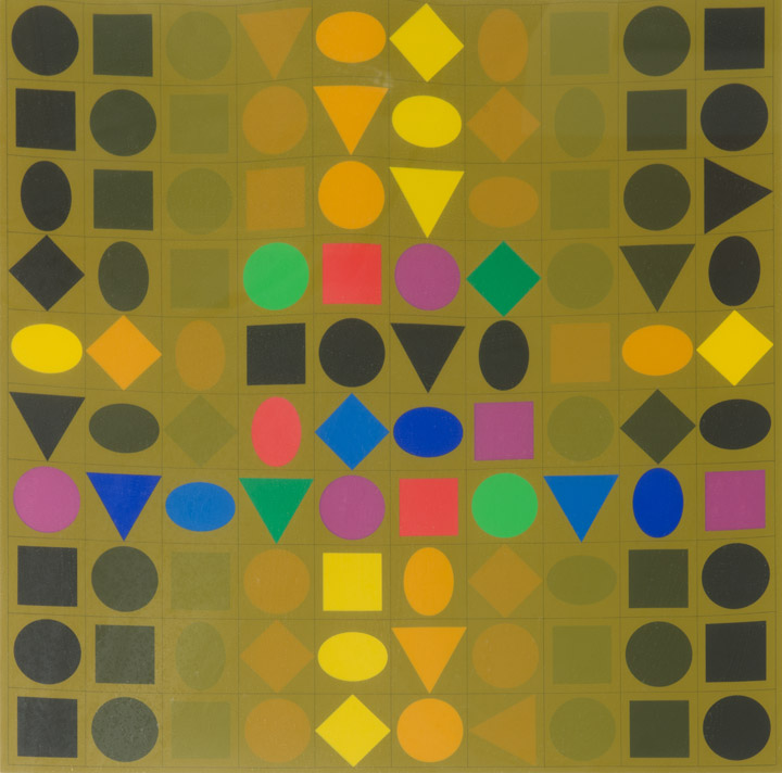 Victor Vasarely - Abstract