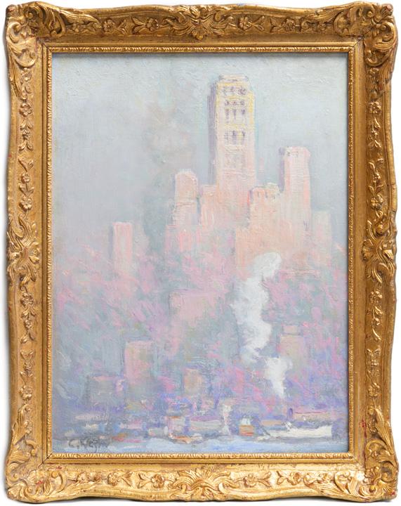 Charles Vezin - New York Harbor