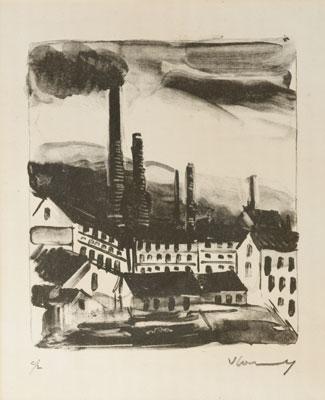 Maurice de Vlaminck - Factories
