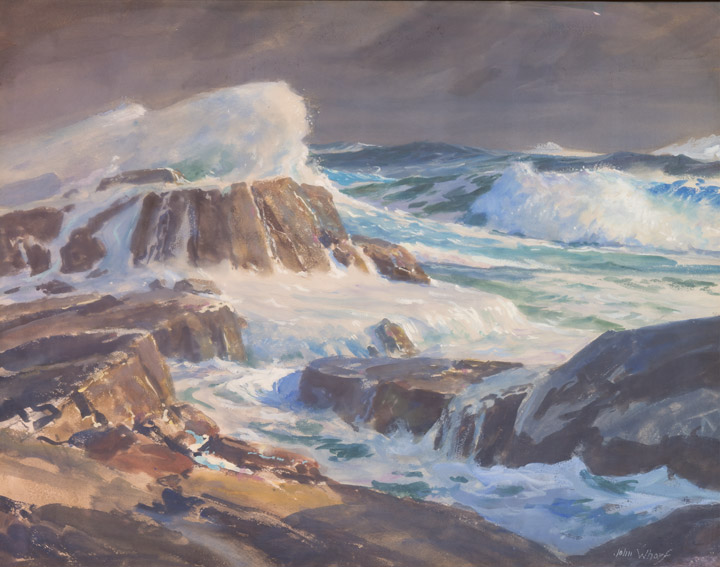 John Whorf - Crashing Waves 2