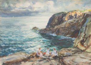 John Whorf - Musicians on the Rocks